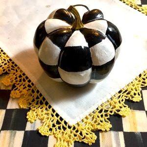 SALE!!🎃Small solid foam custom hand painted pumpkin 🎃/sealed